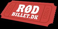 Et billede af Rødbillets røde logo